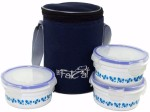 The Fat Cat Lunch Boxes blue n white