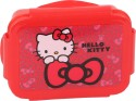 Hello Kitty Plastic Lunch Boxes - Set Of 1, Red
