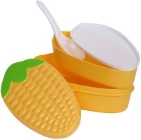 Mayatra's Lunch Box With Spoon - Maize Pattern 1 Containers Lunch Box (250 Ml)
