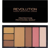 Makeup Revolution London Protection Palette Medium/Dark (Pack Of 7)