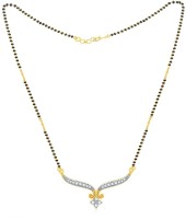 Jashn The Sudeva With 22 Kt Gold Plated Made With 925 Sterling Silver Mangalsutra