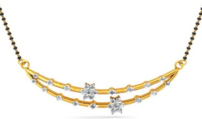 Jacknjewel Amaze Diamond Gold Yellow Gold Mangalsutra