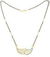 Jashn The Rati With 22 Kt Gold Plated Made With 925 Sterling Silver Mangalsutra
