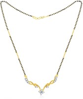 Jashn The Venette With 22 Kt Gold Plated Made With 925 Sterling Silver Mangalsutra