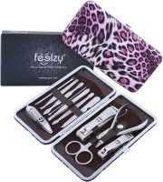 Foolzy 13 In 1 Manicure Pedicure Compact Set Kit (250 G, Set Of 12)