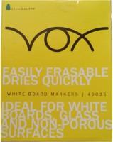 Navneet Vox Vox Bullet Tip Permanent Alcohol Dye Based Whiteboard Markers (Set Of 12, Green)