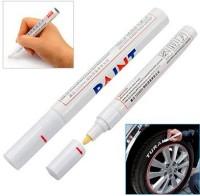 Sipa Bullet Tip Oil Based Ink Permanent Paint Marker (Set Of 1, White)