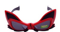 Funcart Hello Kitty Sunglasses For Kids Party Mask (Red, Pack Of 1)