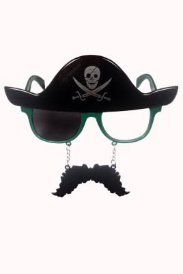 Atpata Funky Pirate Mustache Green