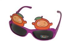 Satyam Kraft Mango_purple Party Mask (Purple, Pack Of 6)