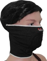 Sushito Probiker Face Mask Balaclava (Black, Pack Of 1)