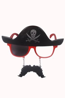 Atpata Funky Pirate Mustache Red