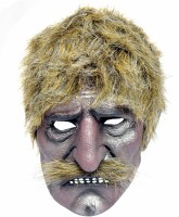 Tootpado Realistic Latex Rubber Adult Size Face - Old Man 1a185 - Horror Halloween Ghost Scary Full Face Cosplay Costumes Supplies Creepy Zombie Party Mask (Multicolor, Pack Of 1)