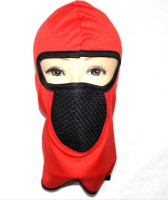 99dailydeals R12 Bike Face Balaclava For Riding Bike Dust/Sun/Heat/Cold Sun Protection Anti-pollution Mask (Red, Pack Of 1)