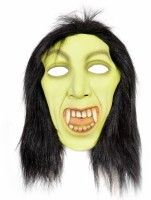 Tootpado Realistic Latex Rubber Adult Size - Witch 1a189 - Horror Halloween Ghost Scary Full Face Cosplay Costumes Supplies Creepy Zombie Party Mask (Multicolor, Pack Of 1)