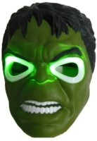 Mayatra's Hulk Mask With Led Light Party Party Mask (Green, Pack Of 1)