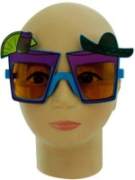 Smartcraft Fiesta Glasses Party Mask (Multicolor, Pack Of 1)