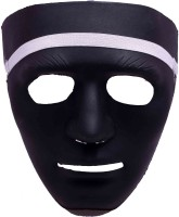 Funcart Military Airsoft Army Face Style Koei Man Party Mask (Black, Pack Of 1)