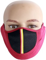 Caricature New Mask Anti-pollution Mask (Red, Pack Of 1)