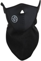 Bike World Black Colour Half Mask For Anti Pollution/Sun/Heat/Cold Protection Balaclava (Black, Pack Of 1)