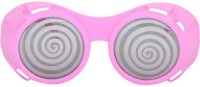 Sanjog Gorgeous Spiral Design Party Mask (Pink, Pack Of 1)