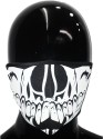 Upbeat Teeth Close Anti-pollution Mask - Black, Pack Of 1