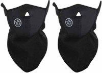 Easydeals All Season Bike Face Cover For Stylish Bikers Anti-pollution Mask (Black, Pack Of 2)