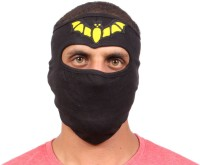 Sushito Bat Design Fancy Balaclava (Black, Pack Of 1)
