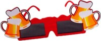 Funcart Square Sunglasses With Beer Glasses Party Mask (Multicolor, Pack Of 1)