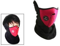 Bike World Anti Pollution Red Face Mask Anti-pollution Mask (Red, Pack Of 1)