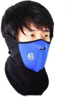 Bike World Blue Colour Half Mask For Anti Pollution/Sun/Heat/Cold Protection Balaclava (Blue, Pack Of 1)