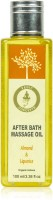 Vedic Concepts Herbal After Bath Massage OIL Almond & Liquourice (100 Ml)