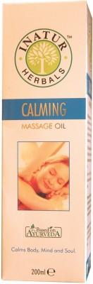 Inatur Herbals Calming Massage Oil - 200 Ml