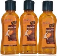 The Spice Club Jojoba Oil - (Pack Of 3) (300 Ml)