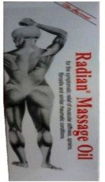 Radian Body and Essential Oils Radian Massage Oil