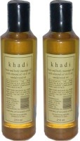 Rockside Khadi Body Massage Oil With Almond Oil Vit-E Oil (420 Ml)