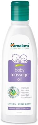 Himalaya Baby Massage Oil 200 Ml X Pack Of 4 (200 Ml)