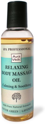 Auravedic Body and Essential Oils Auravedic SPA Professional Relaxing Body Massage oil