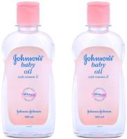 Jhonson&Jhonson Baby Oil 500ml (Pack Of 2) (1000 Ml)