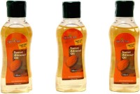 The Spice Club Sweet Almond Oil (Pack Of 3) (100 Ml)