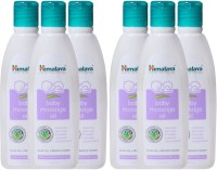 Himalaya Herbal Massage Oil 50 Ml(Pack Of 6) (300 Ml)