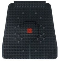 Gizmosoul Acu01 Acupressure Power Relief Mat Massager (Black, Red)