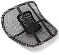 DivineXt DI-223 Massage Chair Back Lumbar Support Mesh Ventilate Cushion Pad Massager (Black)