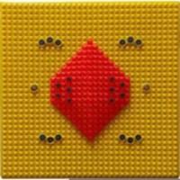 AAROGYA MANDIR AA33 ACUPRESSURE FOOT MAT Massager (RED, YELLOW)