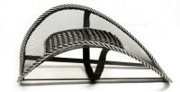 Tuzech Car / Home / Office Seat Massage Back Support Mesh Ventilate Cushion Pad- Set Of 2 Massager (Black)
