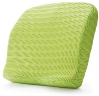 HealthSense Soft-Spot BC 21 Backrest Cushion With Memory Foam Massager (Green)