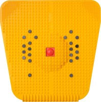 Nirogi Kaya Powermat 2000 Accupressure Mat Massager (Yellow)