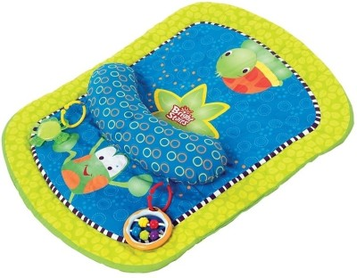 Bright Starts Mat Blue, Green