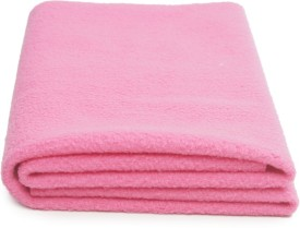 Nostaljia Polyester Small Sleeping Mat Bright Pink Quickly Dry WaterProof Small Mat