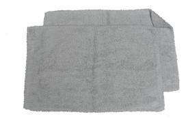 Avira Home Cotton Medium Bath Mat Everyday Reversible Bathmat Set Of 2